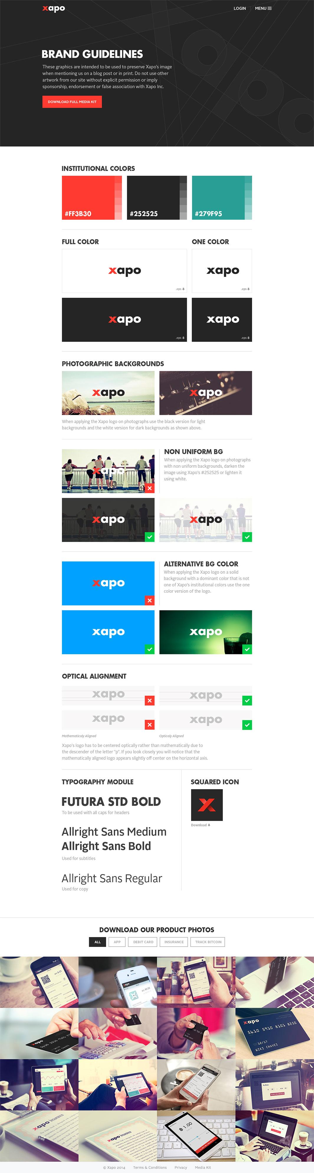 Xapo - Branding & Web Design Case Study | Aerolab